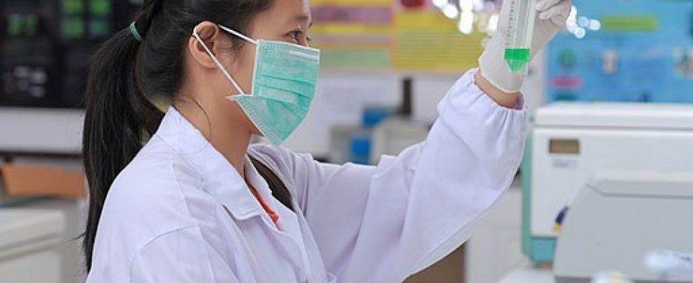 Scientist working on herpes cure